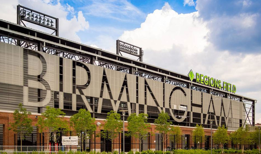 Regions Field, home of the Birmingham Barons.