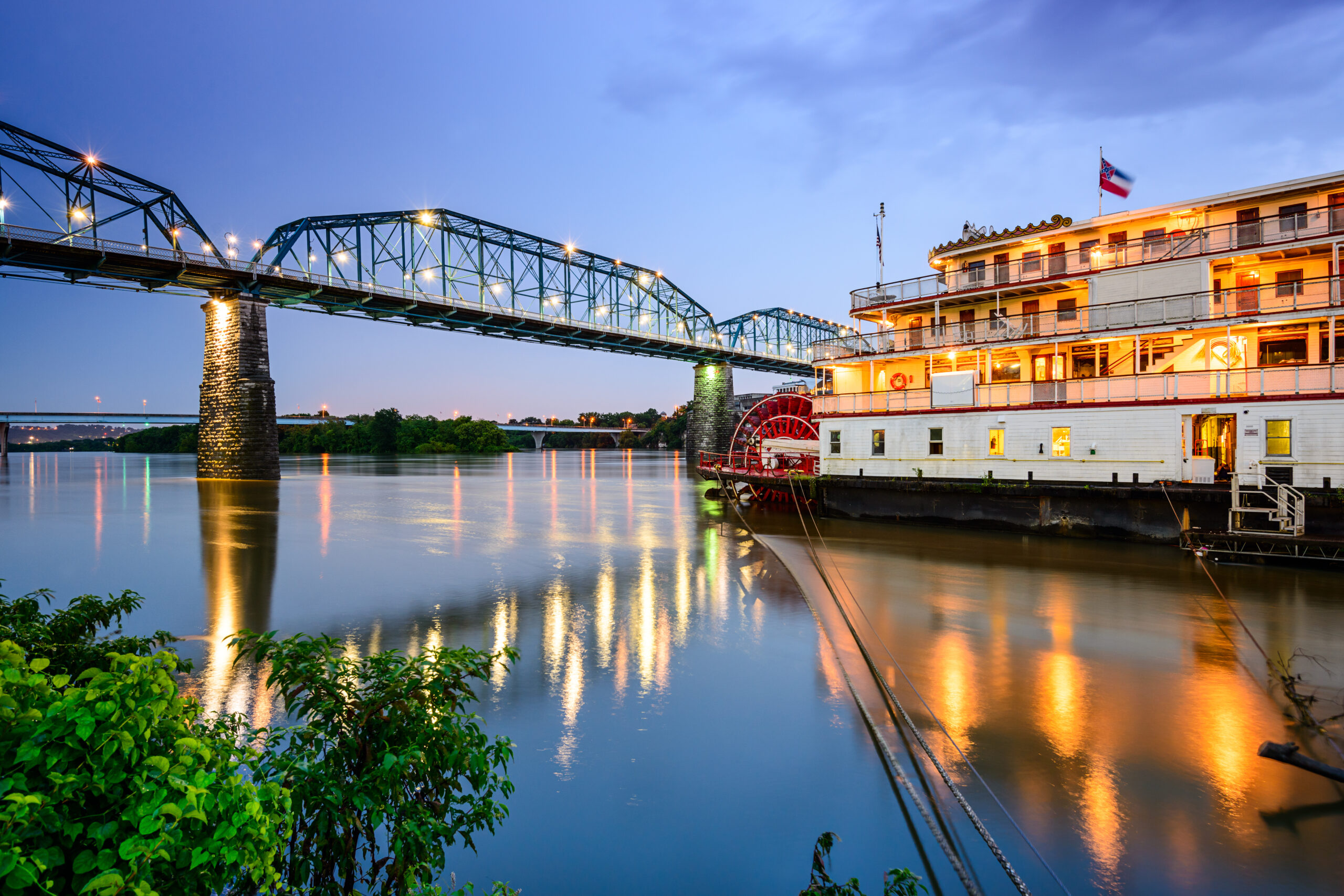 Chattanooga,,Tennessee,,Usa,Riverfront.